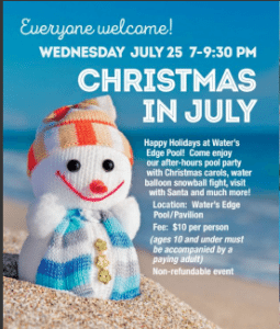 Christmas in July @ Water's Edge | Grosse Ile Township | Michigan | United States