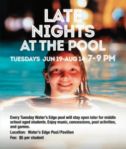 Late Nights at the Pool @ Water's Edge | Grosse Ile Township | Michigan | United States