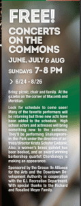 FREE! Concert on the Commons! @ Grosse Ile Township | Michigan | United States