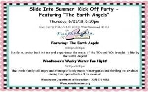 Slide into Summer: Kick-Off Party @ Civic Center Park, Woodhaven | Woodhaven | Michigan | United States