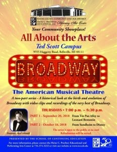 Broadway: The American Musical @ Heinz C. Prechter Educational and Performing Arts Center | Taylor | Michigan | United States