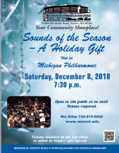 Sounds of the Season @ The Heinz C. Prechter Educational and Performing Arts Center | Taylor | Michigan | United States