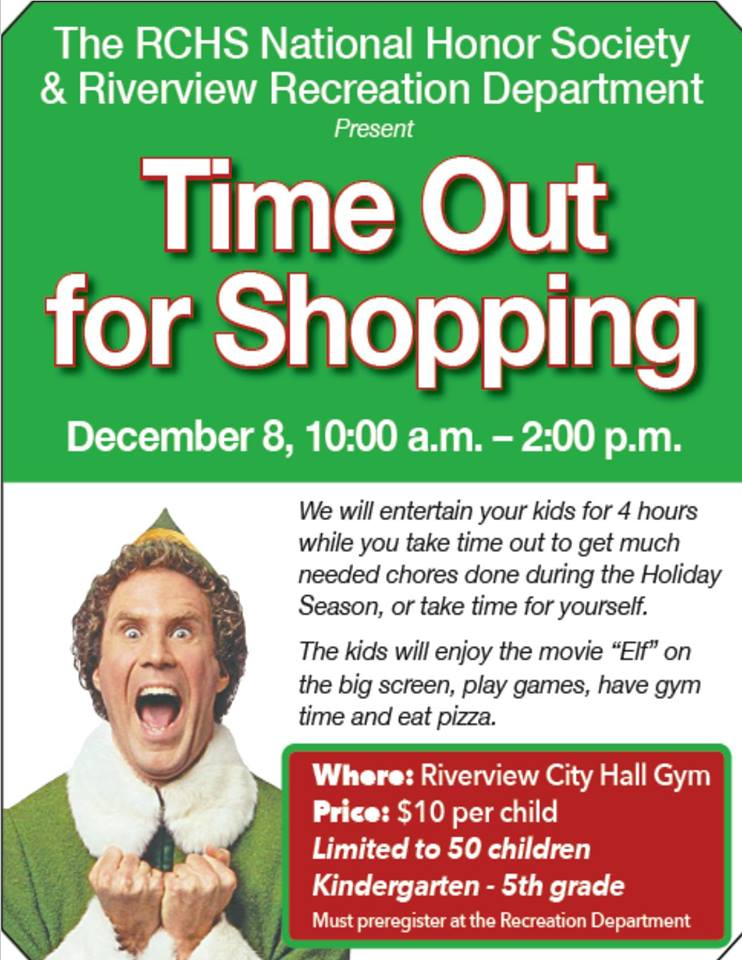 Time Out for Shopping @ Riverview City Hall Gym | Riverview | Michigan | United States