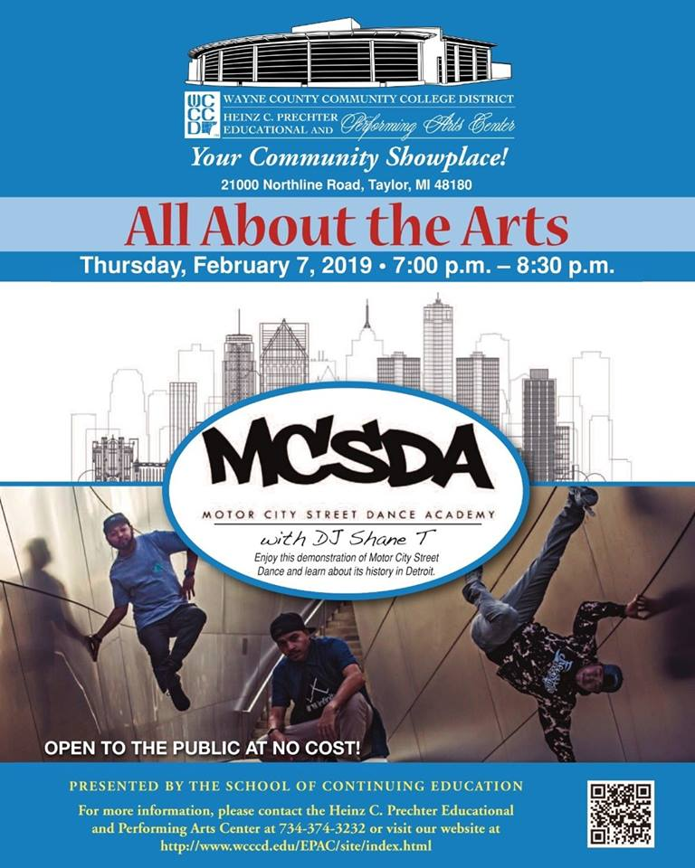 Motor City Street Dance Academy @ Heinz C. Prechter Educational and Performing Arts Center  | Taylor | Michigan | United States