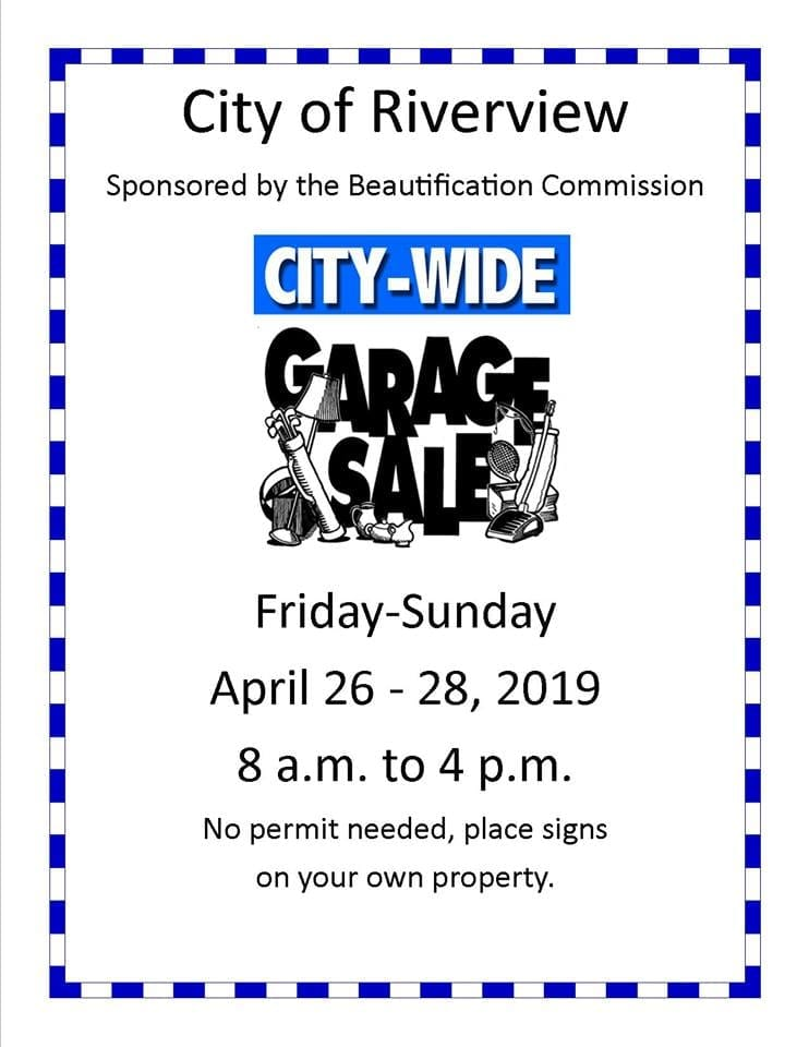 Riverview Citywide Garage Sale | Discover Downriver