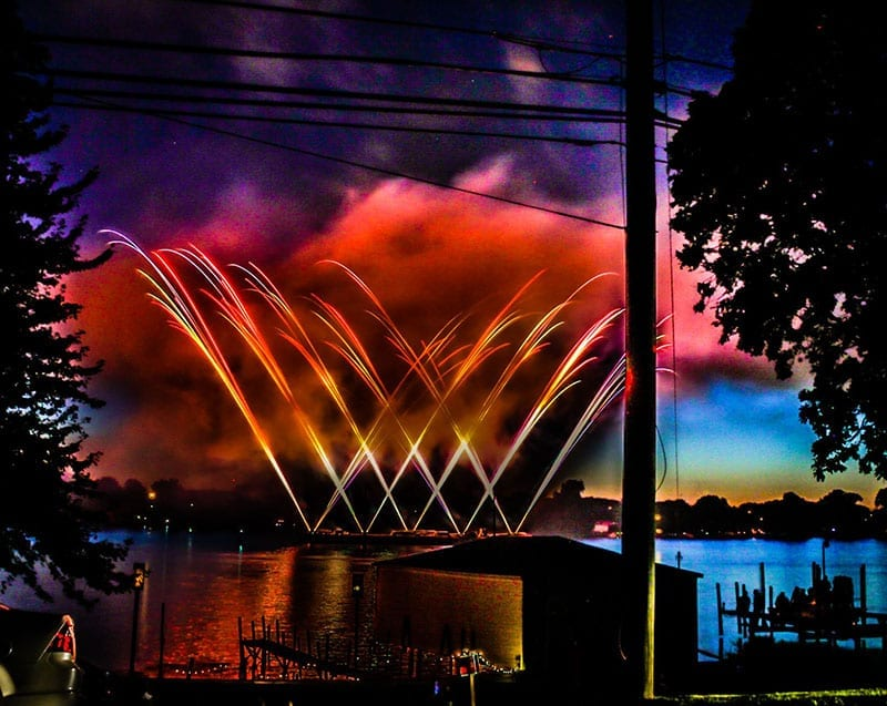Canton Liberty Fest Fireworks Discover Downriver