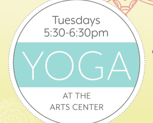 Yoga at the Arts Center @ Downriver Council for the Arts | Wyandotte | Michigan | United States
