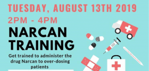 Narcan Training at Hero's Hall @ Victory Gym VHC | Brownstown Charter Township | Michigan | United States