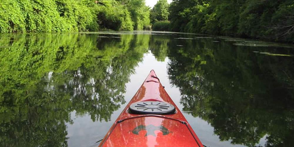 Kayaking in Downriver waterways