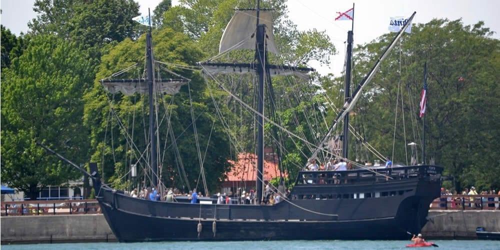 Tall Ships visit Wyandotte