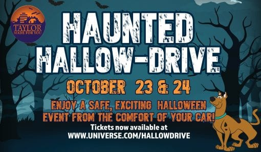 Haunted Hallow-Drive @ Heritage Park Taylor Michigan